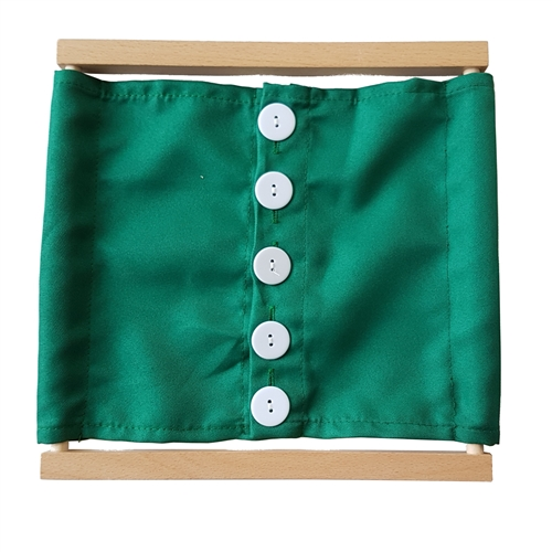 IFIT Montessori: Large Buttons Dressing Frame