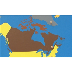 Canada - Puzzle Piece Of North America