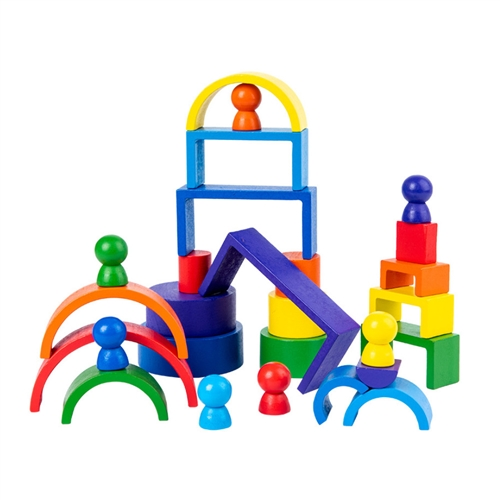 Rainbow Stackers 4-in-1 Mini Set